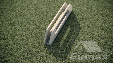 Gumax-deurgreep-mat-creme-productfoto