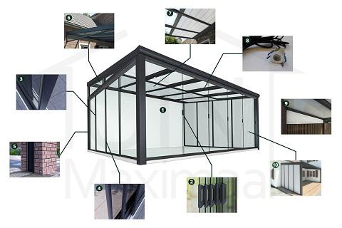 Terrassenüberdachung erweitern? Entdecken Sie alle 10 Optionen