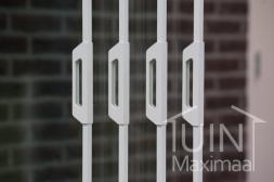Gumax® Zubehör für Glasschiebewänden in matt weiß