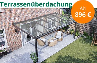 Terrassenüberdachungen Jetzt zusammenstellen