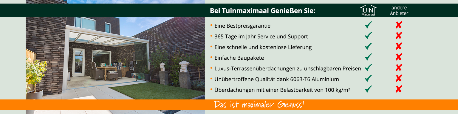 unique selling points tuinmaximaal