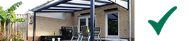 modernen terrassenuberdachung matt anthrazit