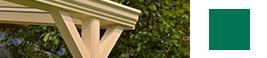 stutzen klassischen terrassenuberdachung matt creme