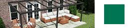 terrassenuberdachung matt anthrazit mit glasdach