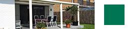 terrassenuberdachung in creme geschutzte gartenmobiliars